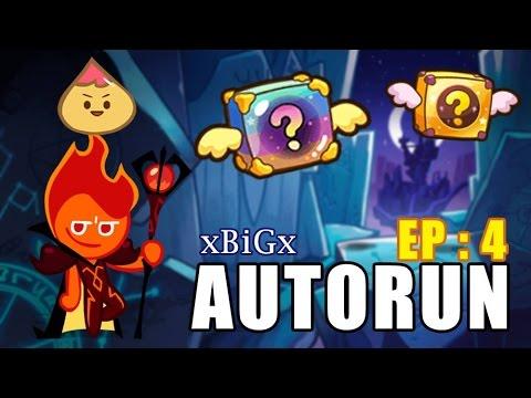 Kakao Cookie Auto Run : Get 2 Mystery Boxes [EP.4] : ออโต้รันเก็บกล่องบิน เกาะใหม่ | xBiGx