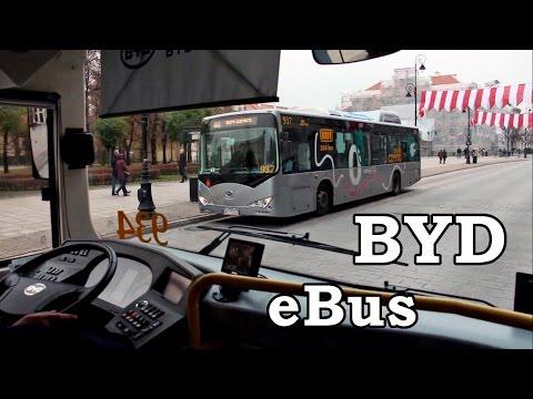 Autobus elektryczny BYD / BYD electric bus - TP05