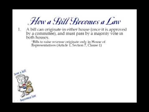 Constitutional Principle #3: Separation of Powers