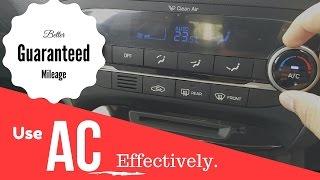 कार का AC कैसे इस्तेमाल करें