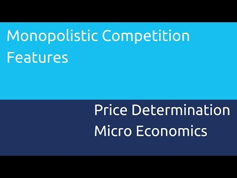 Features of Monopolistic Competition