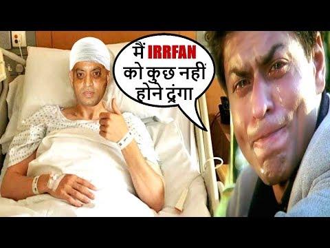 Shahrukh Khan BREAKS DOWN On Irr Khan's BAD Health Condition  SRK Reportedly Helping Irr Khan