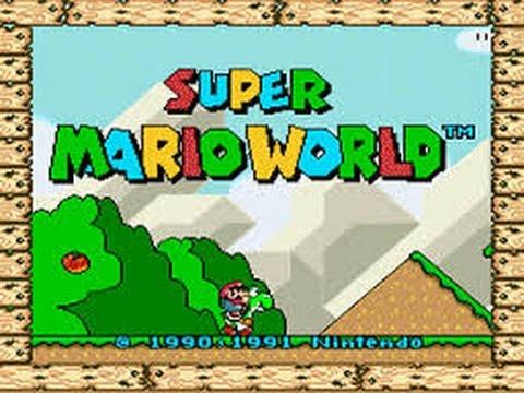 Super Mario World part 1 (Throwback Thursday)
