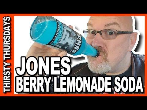 Jones Berry Lemonade Soda Review - Thirsty Thursdays (BIG BURPS ALERT!!!)