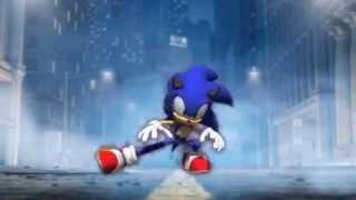 Sonic dances Uh Eeh Uh Ah Ah Ting Tang Walla Walla Bing Bang!