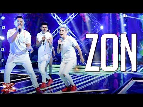 ¡El trío Zon enloquece al público! | Galas en Vivo | Factor X Bolivia 2018