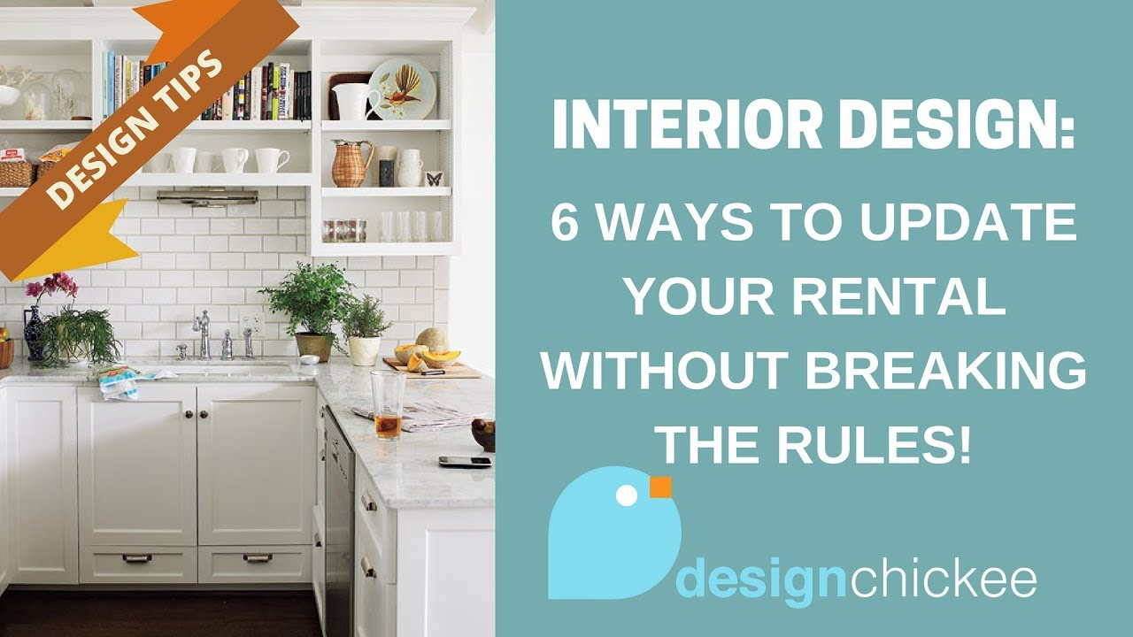 Interior Design Tips: 6 ways to update your rental without breaking ...