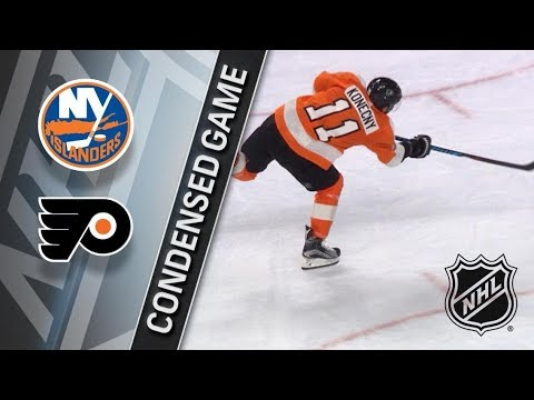 New York Islanders vs Philadelphia Flyers – Jan. 04, 2018 | Game Highlights | NHL 2017/18.Обзор игры