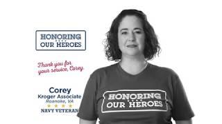 Honoring our Heroes Veteran Corey│VIDEO │Kroger