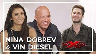 Entrevista com Nina Dobrev e Vin Diesel sobre