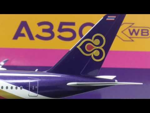 JC Wings 200 Thai Airways International A350-900XWB Review