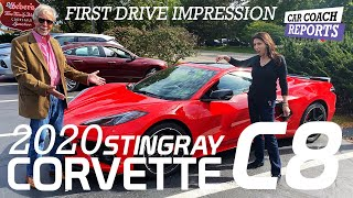 2020 Corvette C8 First Drive - with Lauren Fix & Paul Brian