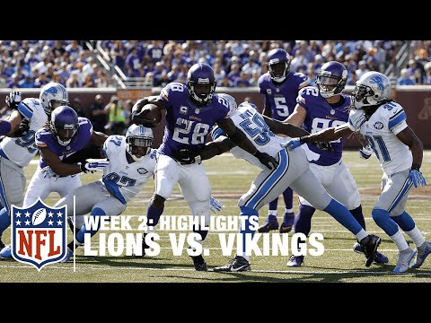 Lions vs. Vikings   Week 2 Highlights   NFL