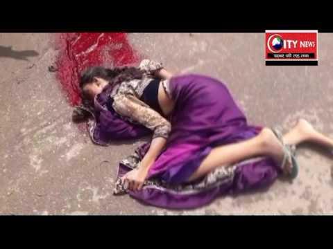 गढ़वा जिले के मेराल प्रखंड के मुख्य सड़क पर कमांडर और ट्रक में सीधी भिड़ंत ,रोजा बीबी  की मौत