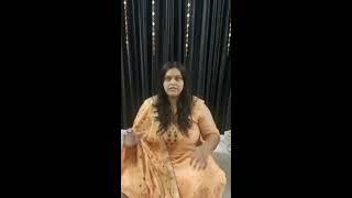"Aishwarya Singh  Facebook Live video13 Aug JSMV & Sabrang Sanstahn ""भेंट "" The Gift For Life"