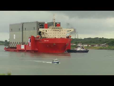 Video Sacyr. Construction of the Third Set of the Panama Canal Locks
