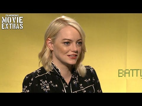 Battle Of The Sexes (2017) Emma Stone talks about her experience making the movie streaming vf