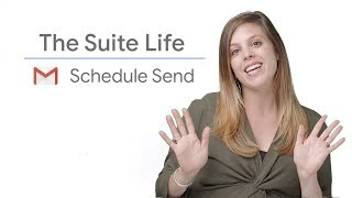 Schedule Send in Gmail - The Suite Life