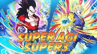 DBZ DOKKAN BATTLE FR | SPEEDTEST SUPER AGI VS NEO SUPER 3| SUPER VEGETTO INDETRONABLE! thumbnail
