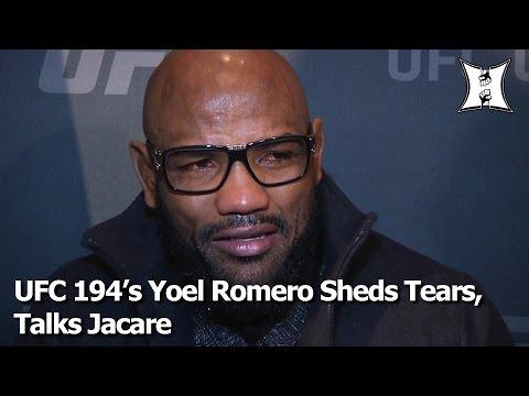 "Teary-Eyed Yoel Romero Talks UFC 194 Jacare Fight, ""Killing"" His Old Self"