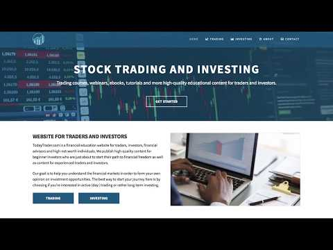 TodayTrader.com is back! Trading courses, coaching and educational content for traders and investors