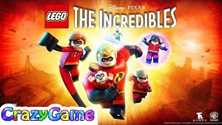 The Incredibles 2 Full Game Movie - LEGO The Incredibles All Cutscenes - Best Action Cartoon Movie