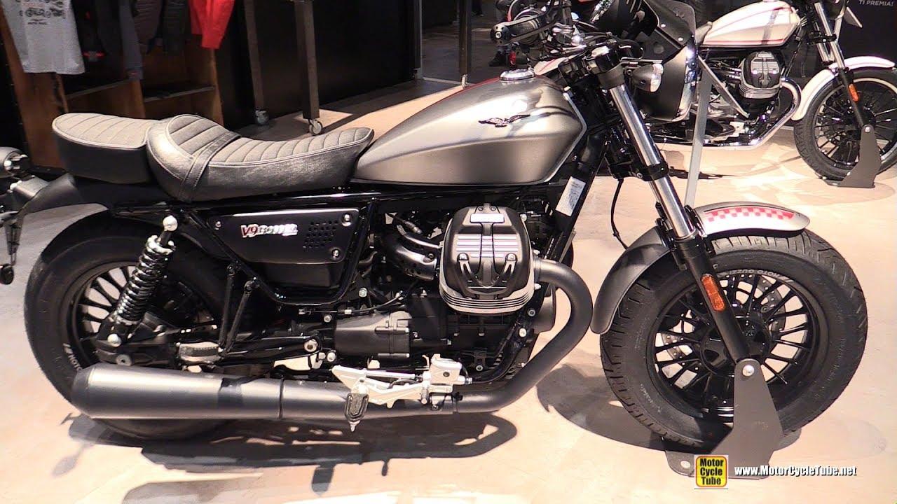 2017 moto guzzi v9 bobber walkaround 2016 eicma milan. Black Bedroom Furniture Sets. Home Design Ideas