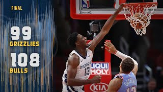 Memphis Grizzlies vs Chicago Bulls Team Highlights | December 4, 2019 | NBA Season 2019/20
