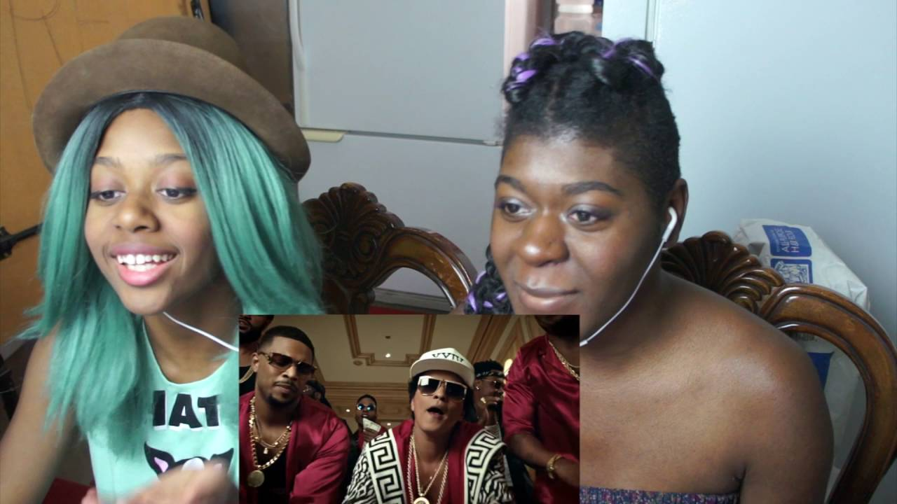 Reaction Bruno Mars 24K Magic Music Video Short Storytime