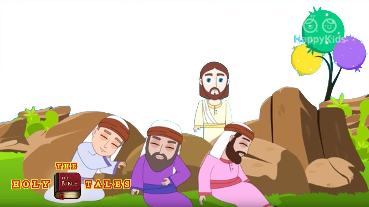 Garden Of Gethsemane - Bible Stories For Children