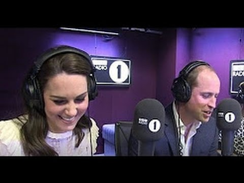 PRINCE WILLIAM & KATE MIDDLETON LIVE RADIO 1 INTERVIEW SHARING ROYAL SECRETS Sooo FUNNY MUST SEE !!!