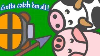 MOOMOO.IO CAPTURING ALL THE ANIMALS!! // Moomoo.io Trolling & Funny Moments