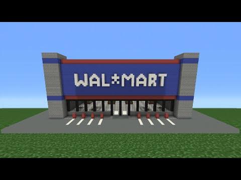 Minecraft Tutorial: How To Make Walmart