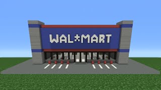 Minecraft Tutorial: How To Make Walmart