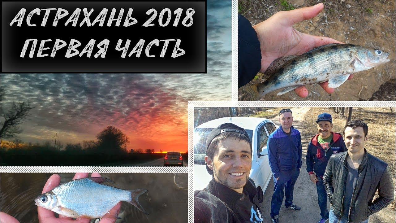Рыбалка в Астрахани 2018. Часть I. Дорога и первый день. Берш, щука
