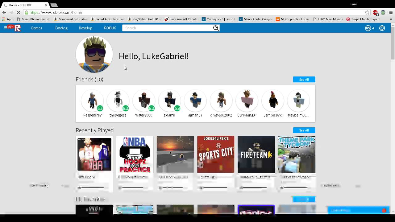 How To Fix The Roblox Website Free Youtube: website home image