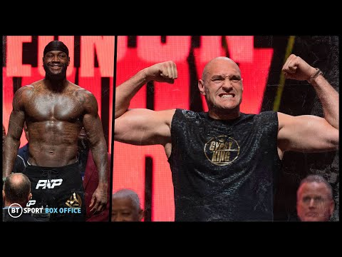 Wilder V Fury 2 Official Weigh-in Results And Final Face Off