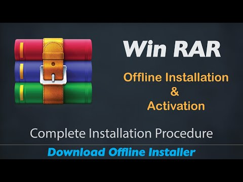 Win RAR Free Download and Activate for Life Time || 100% Working