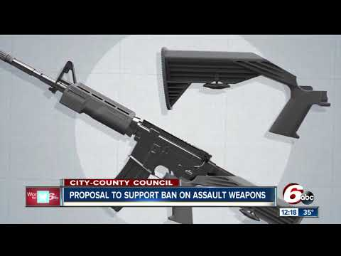 City-County Council proposal would urge Indiana to take up assault weapons ban