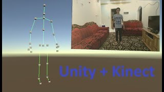 Unity 2019 Kinect, Full Body Tracking And Skeleton Joints - Atyaf