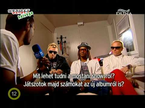 The Prodigy CokeLive peninsula 2009 interview