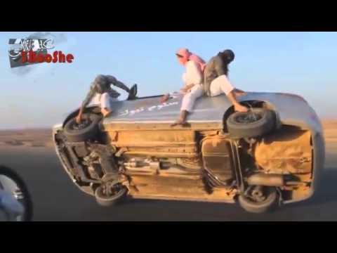 ⚠Raise the car on two wheels⚠--(Saudi Arabia)☆☆☆