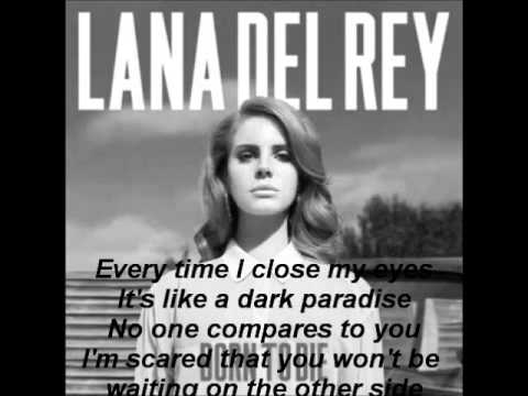 Lana Del Rey - Dark Paradise Lyrics