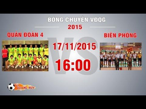 Quân Đoàn 4 vs Biên Phòng - Giải BC VĐQG 2015 | FULL