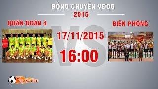 quan doan 4 vs bien phong - giai bc vdqg 2015  full