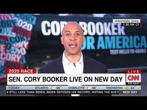 Senator Cory Booker Discusses The Democratic Debate, Impeachment And Iowa On CNN