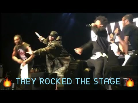Les Twins x Yandel at Summer Jam in Texas | Performance pt 1