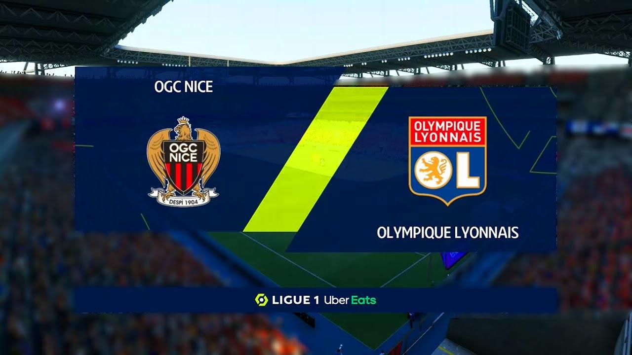 Nice Vs Lyon Ligue 1 19 12 2020 Fifa 21 Youtube