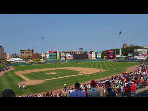 Rochester Red Wings Ball Drop, Labor Day,  09 04 2017