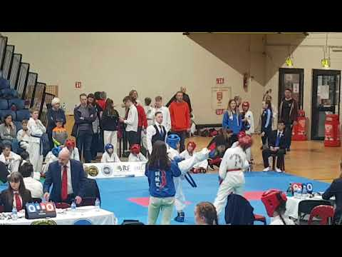 Farid at Dublin Open 2018 - First round of Sparing competition